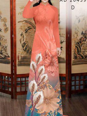 Vải Áo Dài Hoa Hồng Môn AD 20439 28