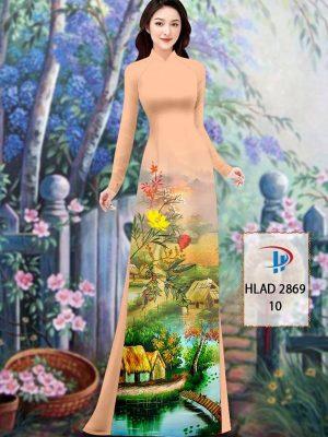 Vải Áo Dài Phong Cảnh AD HLAD 2869 29