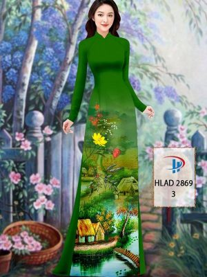 Vải Áo Dài Phong Cảnh AD HLAD 2869 47