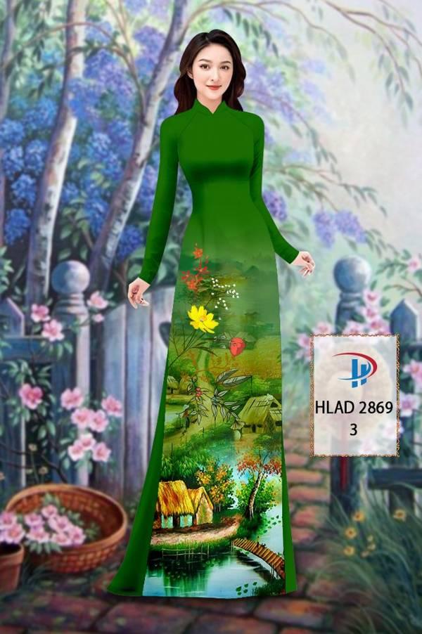 Vải Áo Dài Phong Cảnh AD HLAD 2869 23