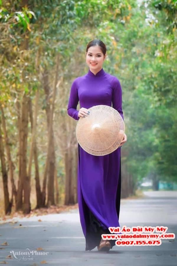 Vải Áo Dài Trơn Lụa Thái Tuấn Giá bao nhiêu? Mua ở đâu? 19