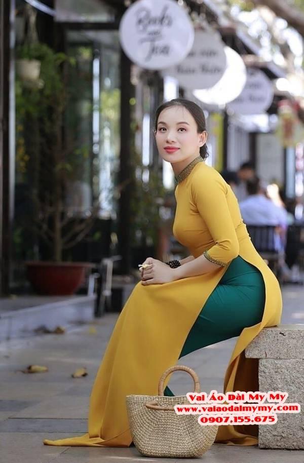 Vải Áo Dài Trơn Lụa Thái Tuấn Giá bao nhiêu? Mua ở đâu? 24