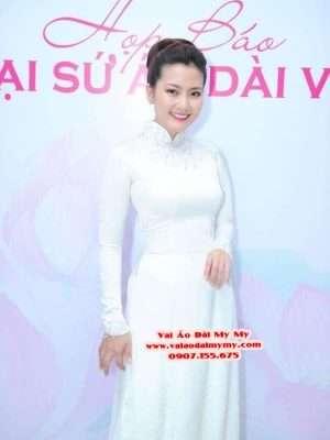 Vải Áo Dài Thái Tuấn Trơn Màu Trắng AD TRON Trang 8