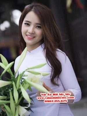 Vải Áo Dài Thái Tuấn Trơn Màu Trắng AD TRON Trang 7