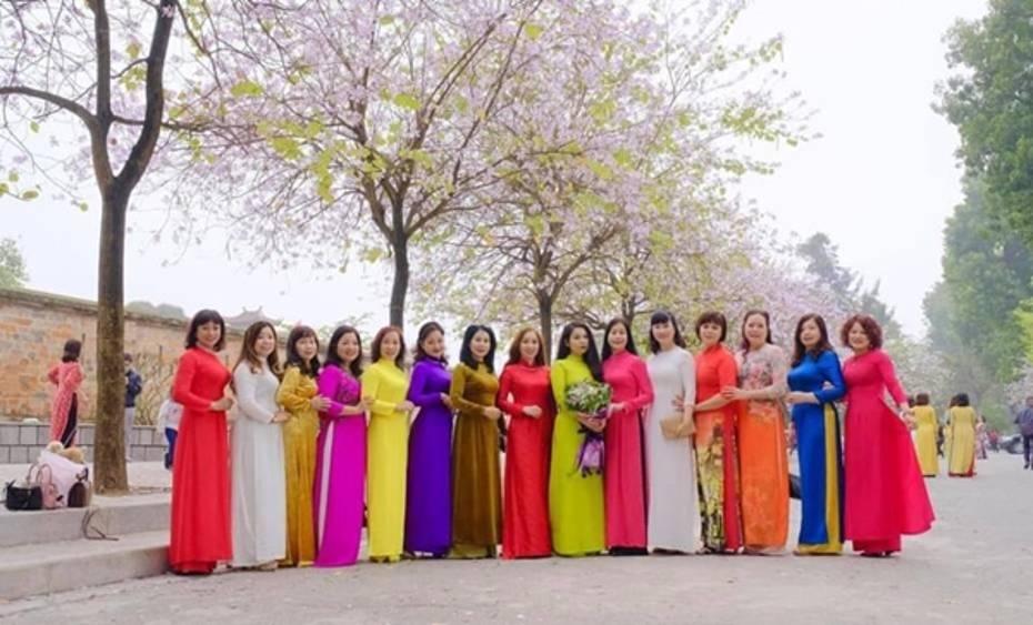 Vải Áo Dài Trơn Lụa Thái Tuấn Giá bao nhiêu? Mua ở đâu? 11