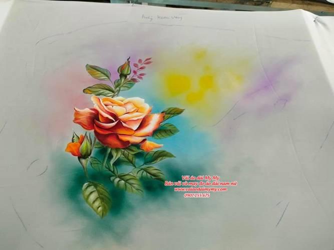 Vẽ Áo Dài Đẹp, Cao Cấp, Uy Tín Tại Sài Gòn 9