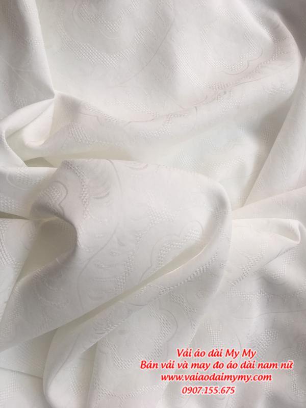 Vải Áo Dài Trắng Học Sinh AD MAU8 1
