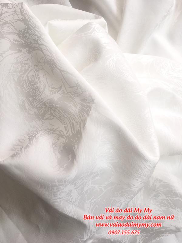 Vải Áo Dài Trắng Học Sinh AD MAU3 1