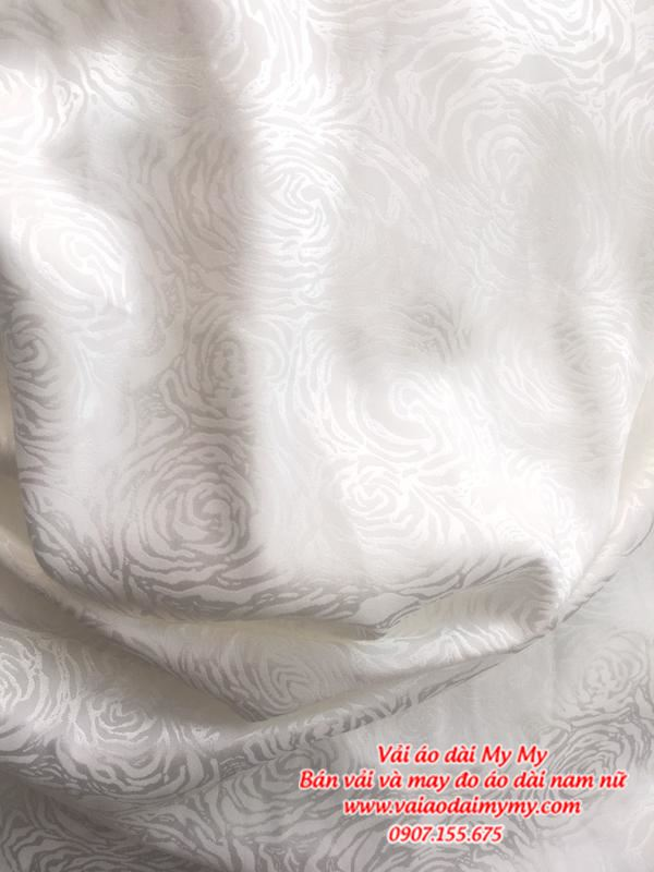 Vải Áo Dài Trắng Học Sinh AD MAU1 1