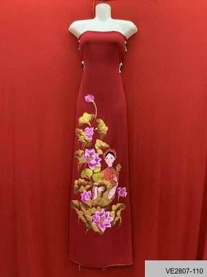 Các kiểu thiết kế cổ áo dài đẹp nhất 9